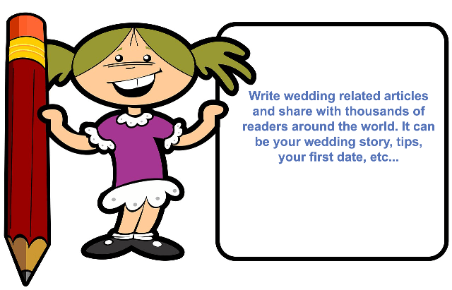 Write for wedding engage