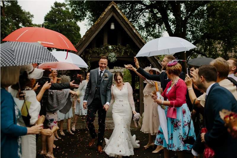 Groom and Bride - Wedding Welcome
